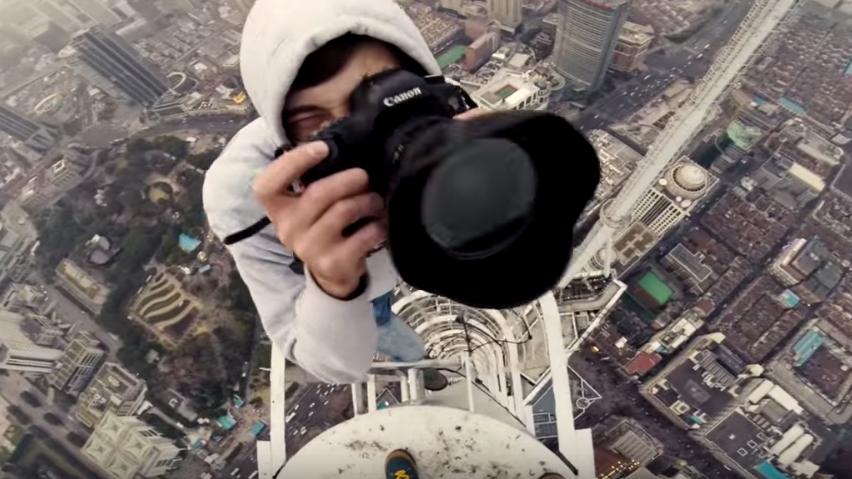 Über den Dächern der Welt: Zwei Roofer zeigen uns den Ausblick ihrer neuesten Erklimmung