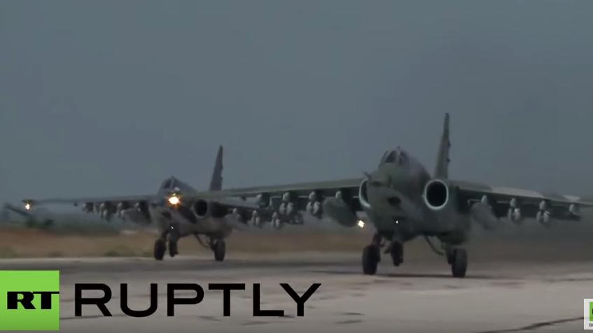 Syrien: Russische Luftwaffe trifft 86 IS-Ziele an nur einem Tag