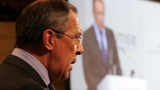Live: Lawrow trifft auf Zannier den Generalsekretär der OSZE in Moskau