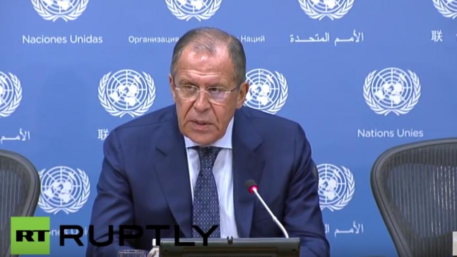Live: Lawrow gibt am Rande von UN-Vollversammlung Pressekonferenz