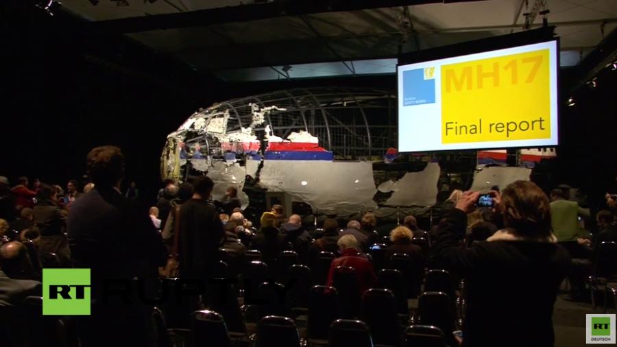 Live: Niederländische Flugsicherheitsbehörde legt Abschlussbericht zu MH17 vor