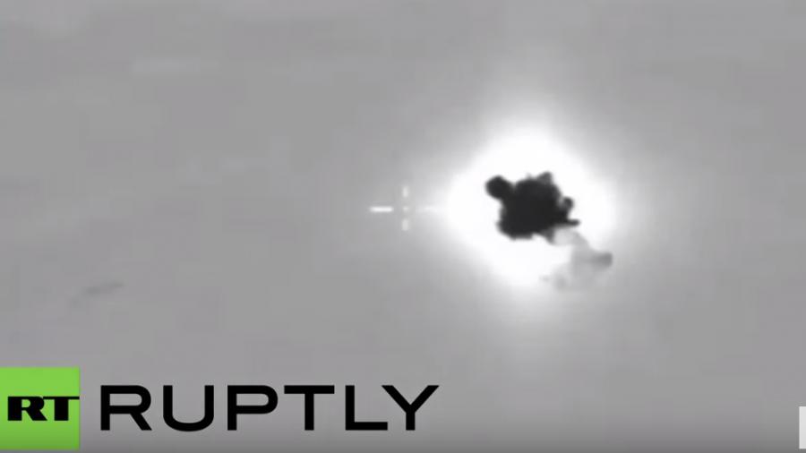 Syrien: Russischer Luftangriff trifft Munitionslager in unbewohntem Berggebiet