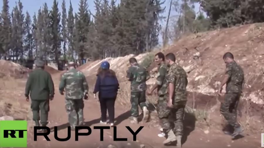"""""""Es gab keine Zivilisten nahe getroffener Ziele der russischen Luftwaffe"""" - syrisches Militär"""