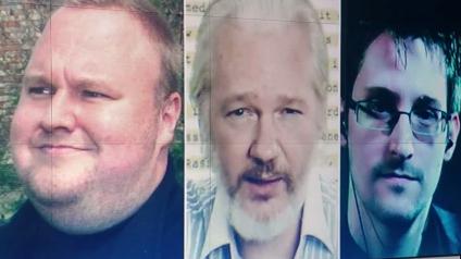 """Julian Assange, Edward Snowden und Kim Dotcom - Feldzug gegen die """"Staatsfeinde"""" der USA"""