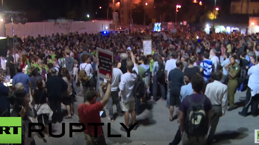 Jerusalem: Juden und Araber marschieren gemeinsam für den Frieden
