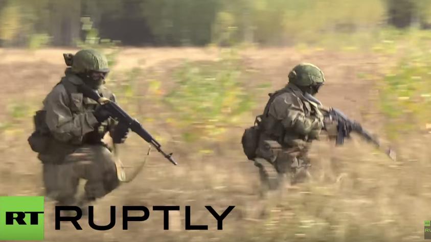 Russland: Spezialeinheiten trainieren Kampf gegen Dschihadisten