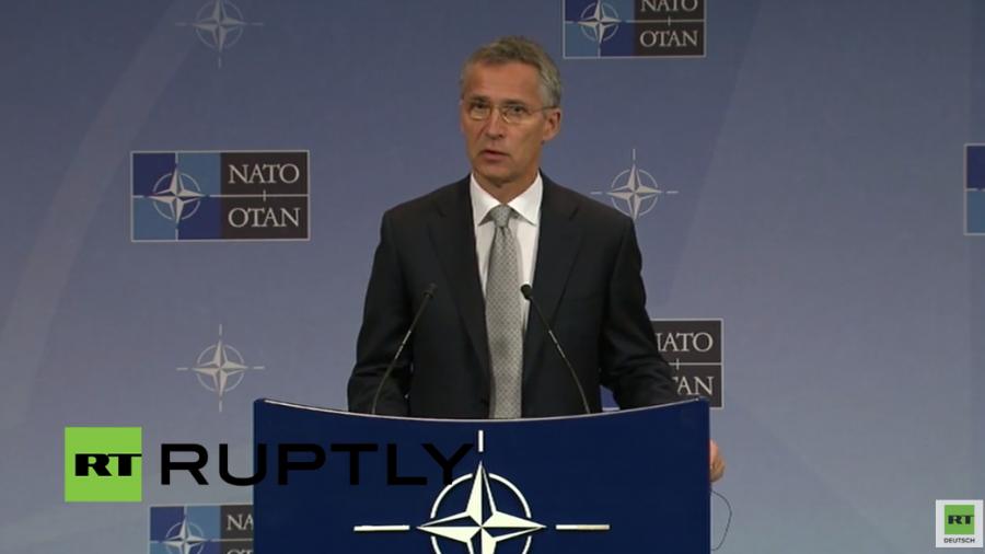 Live: NATO-Generalsekretär Stoltenberg kommentiert die NATO-Russland-Beziehungen