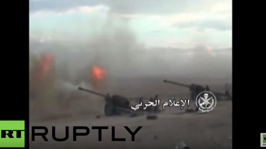 Syrien: Syrische Arabische Armee veröffentlicht Kampfvideo gegen den IS in Hama