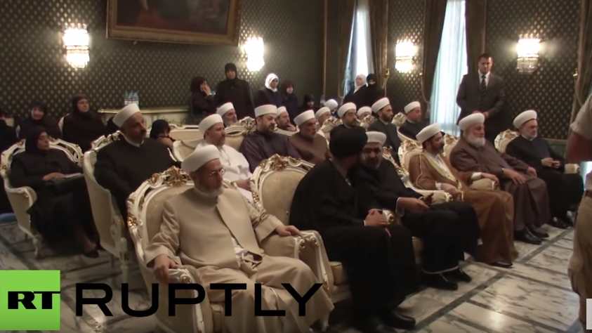Syrien: Vertreter der Religionsgemeinschaften sprechen Russland ihre Dankbarkeit aus