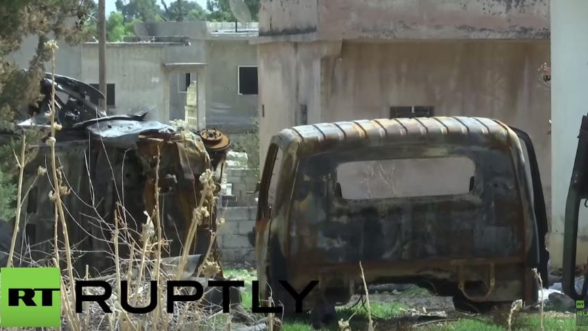 Video der Syrisch Arabischen Armee: Al-Nusra hinterlässt Spur der Verwüstung