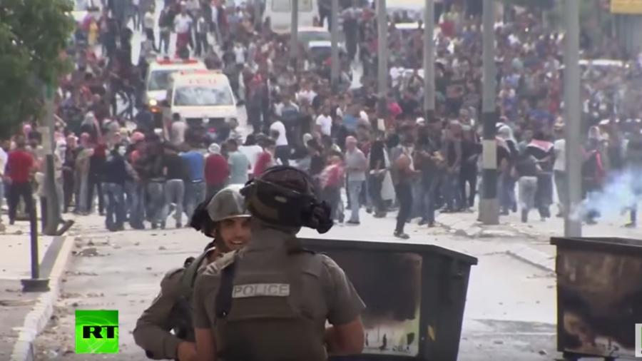 Gewalteskalation in der Westbank: Es regnet förmlich Steine und Tränengas