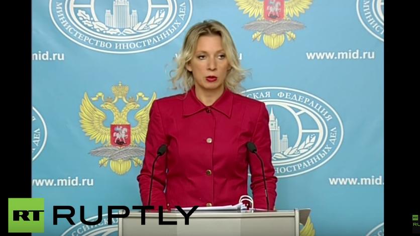 Live: Wöchentliches Pressebriefing der Sprecherin des russischen Außenministeriums Zakharowa