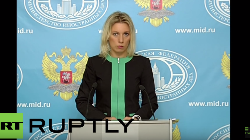 Live: Maria Zacharowa gibt Pressekonferenz in Moskau