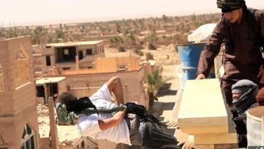 Mutmaßliche Exekution durch den IS - Quelle: RI