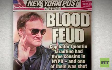 USA: Massiver Druck auf Tarantino wegen politischem Engagement gegen Polizeigewalt