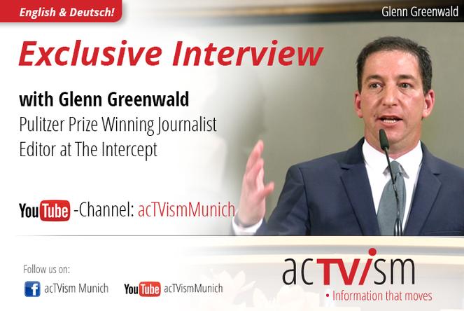 Glenn Greenwald über die Mainstream-Medien, Propaganda und die Rolle Deutschlands
