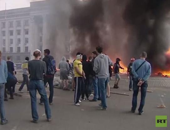 Europarats-Untersuchung zum Gewerkschaftshaus-Pogrom von Odessa: Polizei wusste von Anschlagsplänen