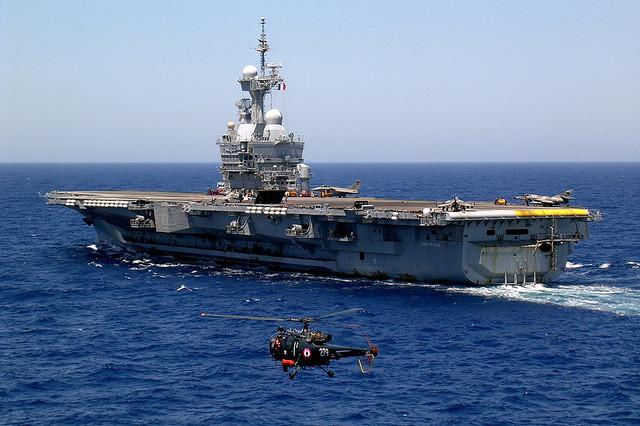 """""""Erhöhung von Einfluss und  Feuerkraft"""" - Frankreich entsendet Flugzeugträger in Persischen Golf"""