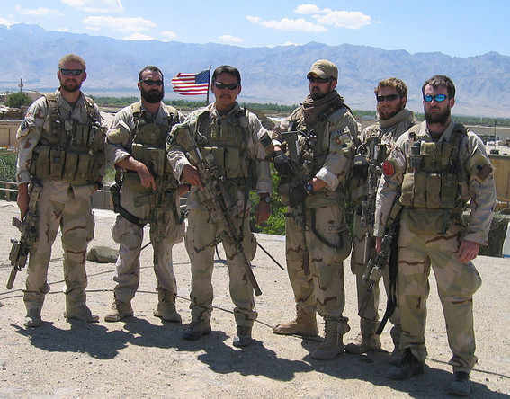 US Navy Seals. Foto US Navy - gemeinfrei