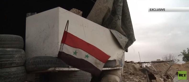 RT-Bericht von der Frontlinie : Syrische Armee schneidet IS von logistischen Routen ab