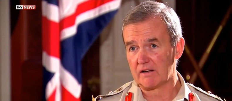 """Britischer General über Kampf gegen IS: """"Wir lassen unsere Alliierten im Stich"""""""