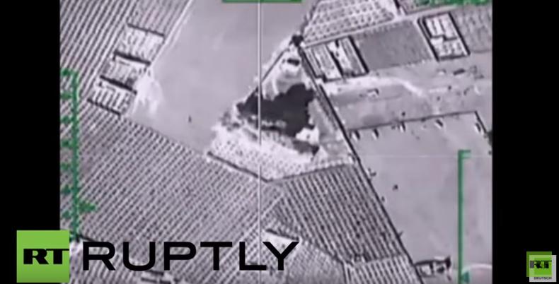 Syrien: Russische Luftstreitkräfte zerstören 448 Ziele in drei Tagen