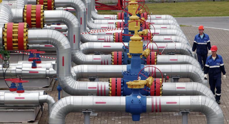 Wegen finanzieller Engpässe: Kiew geht bereits vor Wintereinbruch an letzte Erdgas-Speicherreserven