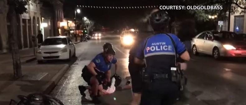 """Texas: Exzessive Polizeigewalt wegen """"illegalem Überqueren einer Straße"""""""
