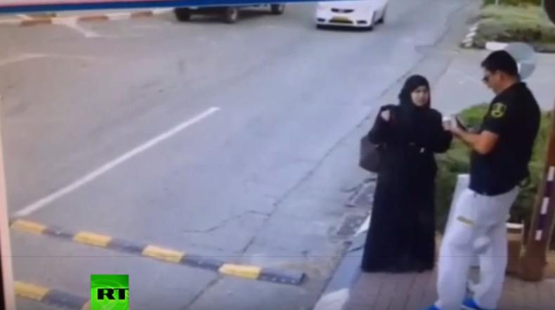 Westbank: Video zeigt Messerattacke von Palästinenserin auf israelischen Wachmann