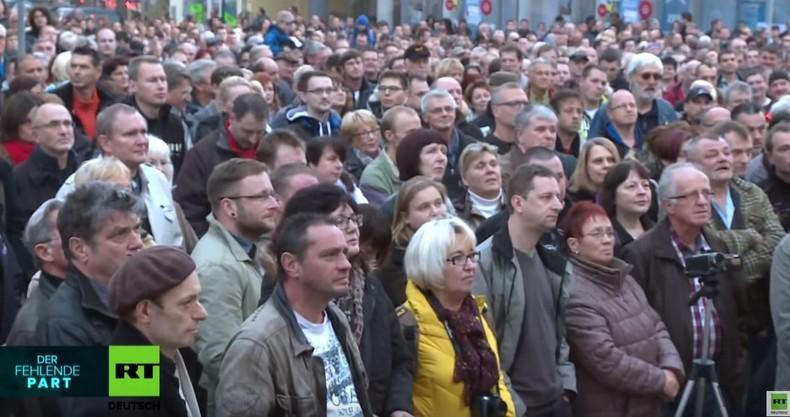 """Protestbewegung """"Wir sind Deutschland"""" in Plauen: """"Nicht ganz rechts und nicht ganz links"""""""
