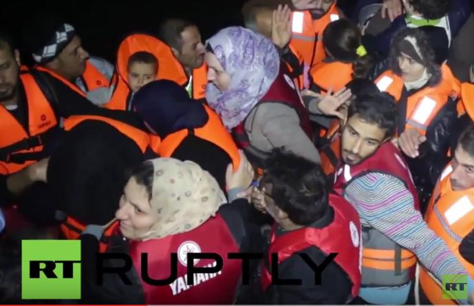 Griechenland: Fischer rettet Dutzende Flüchtlinge mit seinem Boot