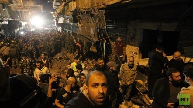 Rache für Syrien-Engagement - IS-Selbstmordandschlag gegen Hisbollah-Hochburg in Beirut