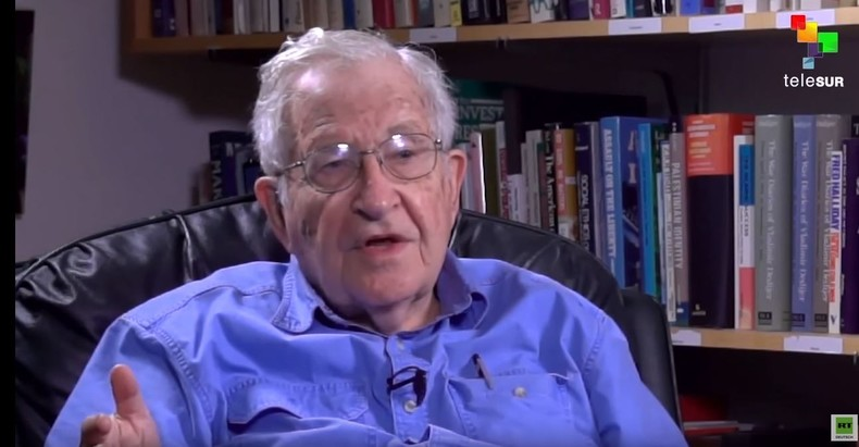 The Empire Files - Abby Martin interviewt Noam Chomsky