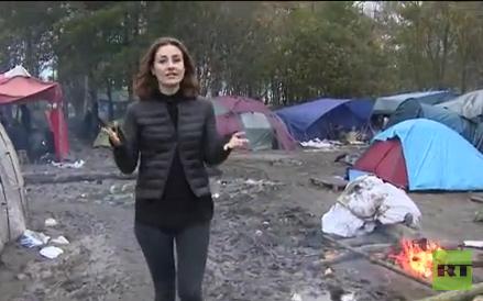 """""""Extremisten übernehmen dort die Kontrolle"""" - Flüchtlinge fliehen aus Lager in Calais"""