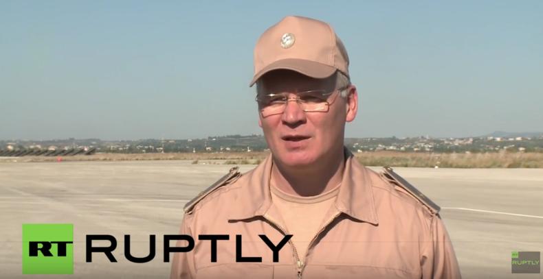 Syrien: Russische Luftstreitkräfte zerstören 289 terroristische Ziele in zwei Tagen