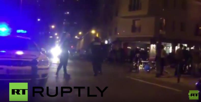 Live vom Fußballstadion in Paris - Terroralarm in Frankreich