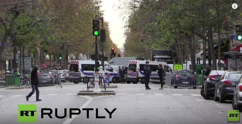 Live vom Konzertsaal Bataclan nach der Anschlagsserie in Paris