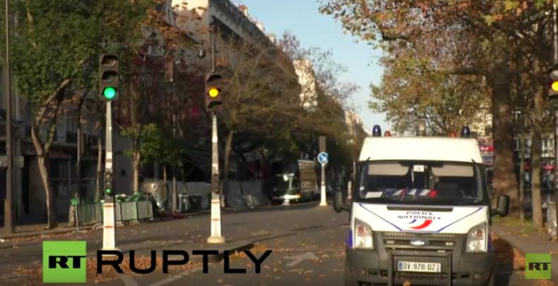Live von der Bataclan-Konzerthalle nach der Terrorserie in Paris