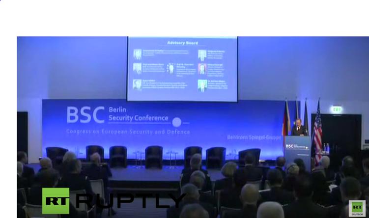 "Berliner Sicherheitskonferenz - ""Euro-Atlantische Partnerschaft - fester Anker in turbulenter Welt"""