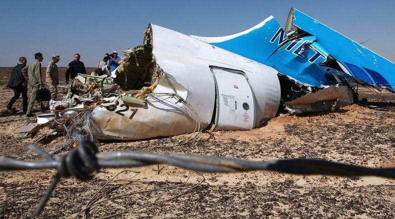 Russischer Geheimdienst FSB: Flugzeugabsturz über Sinai war Terrorangriff