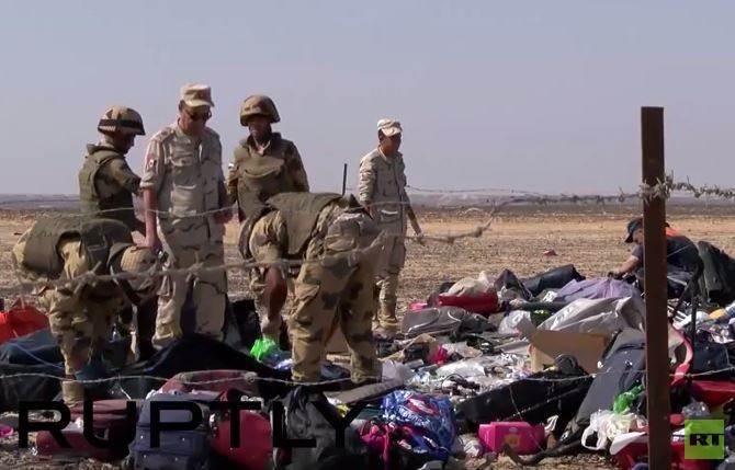 Erste Verdächtige zum A321 Attentat - Ägypten nimmt zwei Flughafenangestellte fest