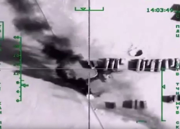 Russland nimmt Tanklaster des IS ins Visier: 500 Fahrzeuge zerstört