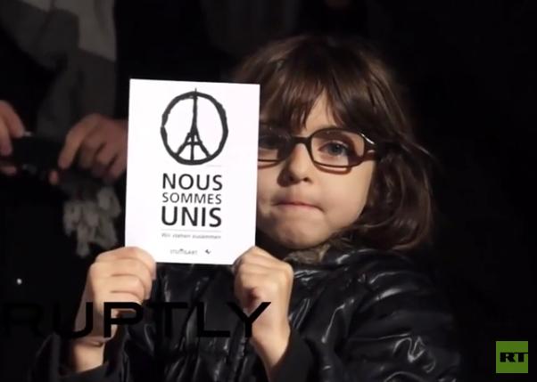 Frankreich: Straßburg gedenkt der Opfer der Pariser Attentate