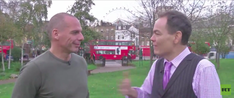 """Max Keiser trifft Yanis Varoufakis: """"Eurogruppe wollte griechische Regierung vernichten"""""""