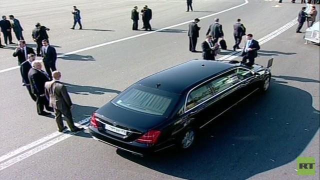 Live: Treffen zwischen Wladimir Putin und dem iranischen Präsidenten Rohani in Teheran - Ankunft