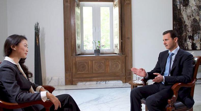 """Assad: """"Ohne ausländische Unterstützung wäre der IS in einem Jahr besiegt"""""""