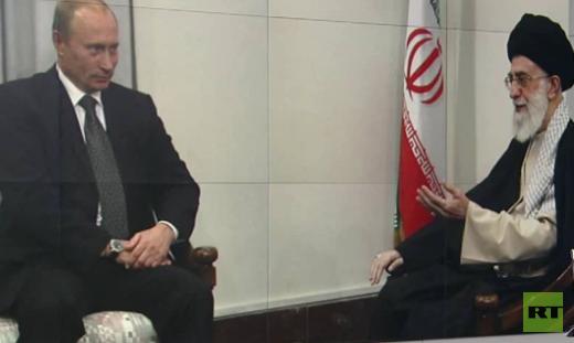 """Russischer Präsident zu Gast in Iran - Gespräche über Kampf gegen """"Islamischen Staat"""""""