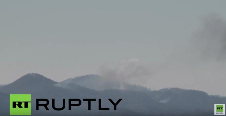 Syrien: Russische Su-24 an syrisch-türkischer Grenze abgeschossen