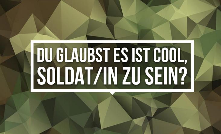 """""""Du glaubst, es ist cool Soldat zu sein?"""" - Künstlerkollektiv hackt Werbekampagne der Bundeswehr"""