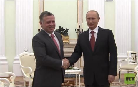 Live: Putin trifft König von Jordanien Abdullah II in Sochi - Englische Übersetzung